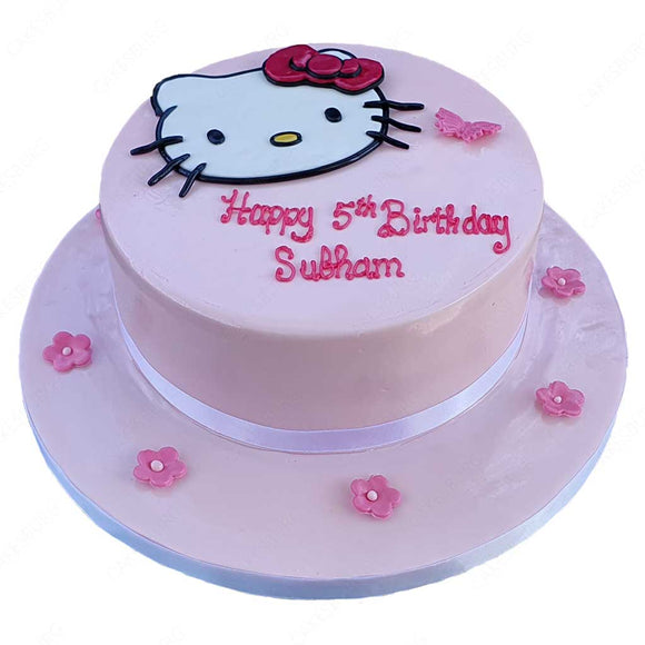 Hello Kitty Cake #1