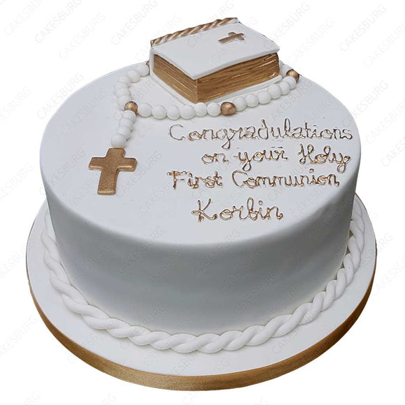Holy Communion Cake #3
