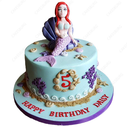 Mermaid Cake #3