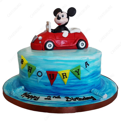 Mickey Mouse Cake #3
