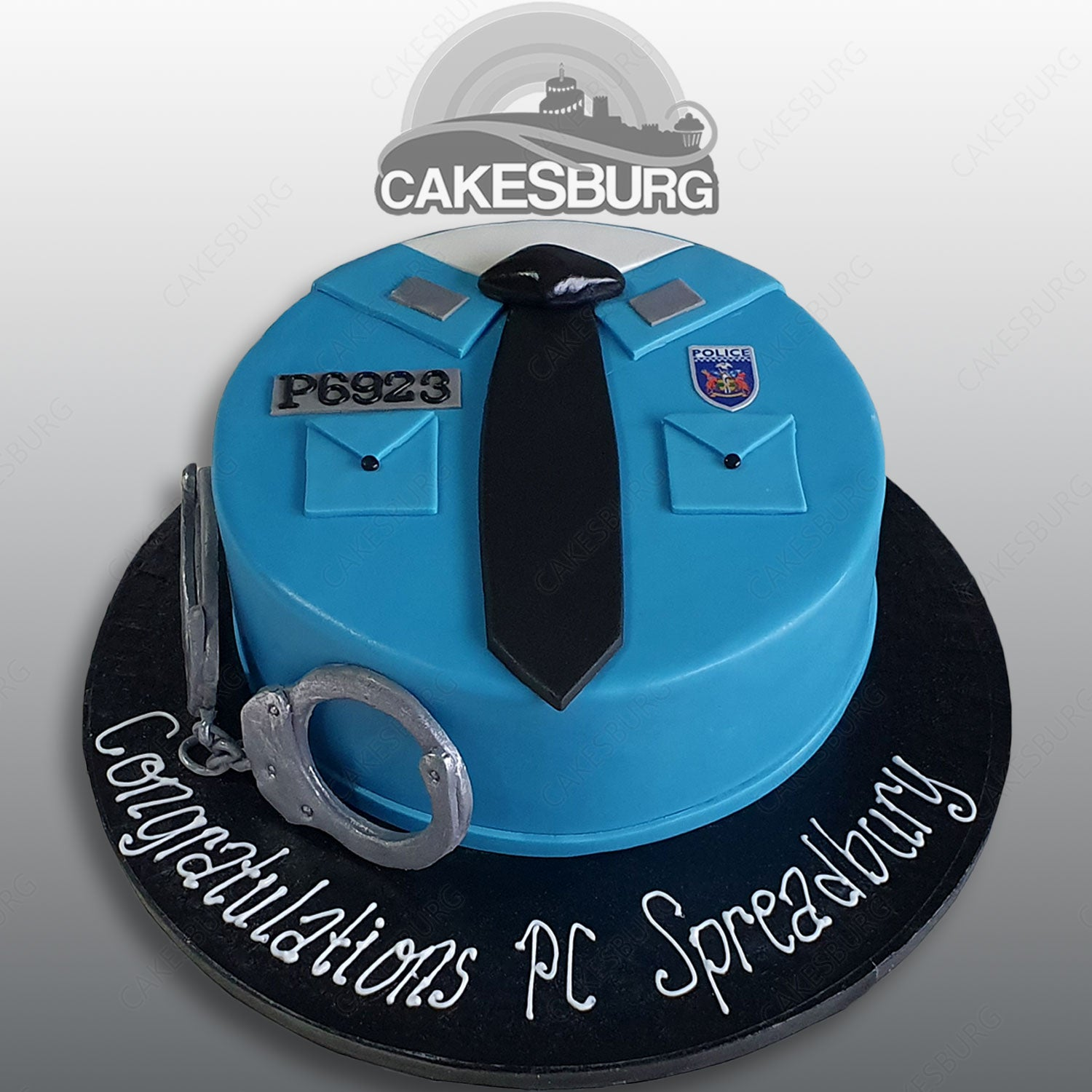 Swell Police Officer Cake Cakesburg Online Premium Cake Shop Funny Birthday Cards Online Alyptdamsfinfo