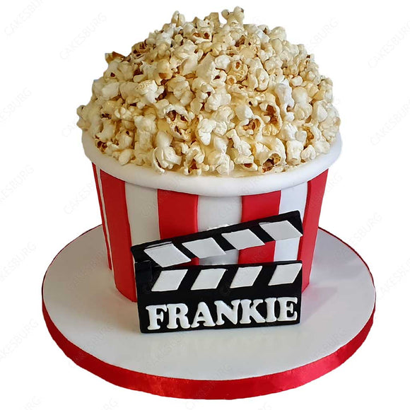Popcorn / Movie Night Cake