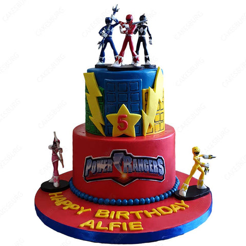 Power Rangers Hero World Cake