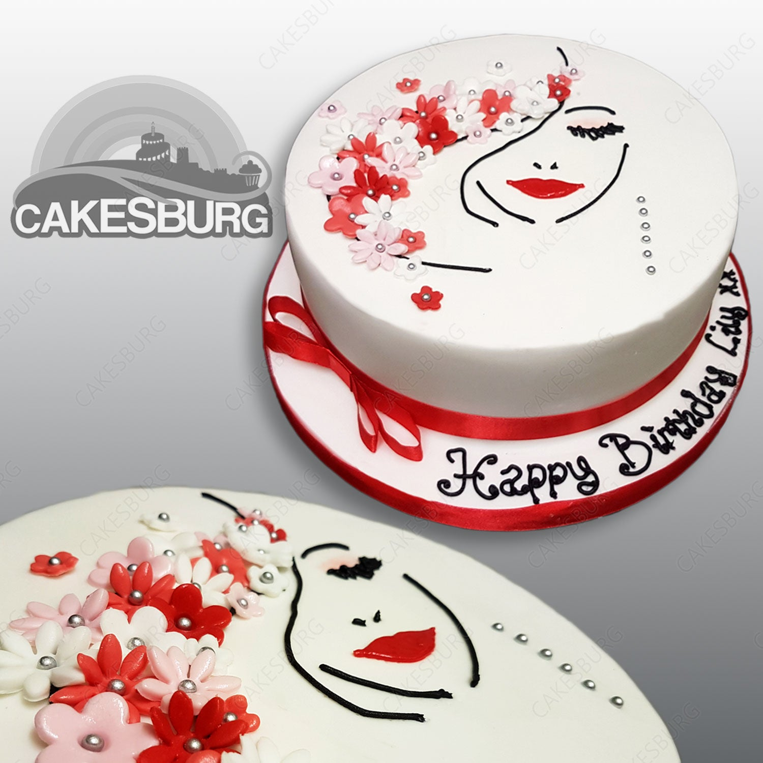 Miraculous Pretty Woman Cake Cakesburg Online Premium Cake Shop Funny Birthday Cards Online Alyptdamsfinfo