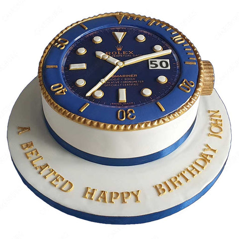 Luxury Rolex Submariner Cake #2