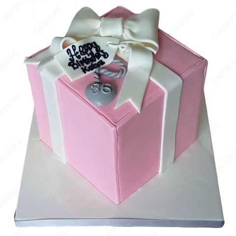 Tiffany & Co. Box Cake - Pink