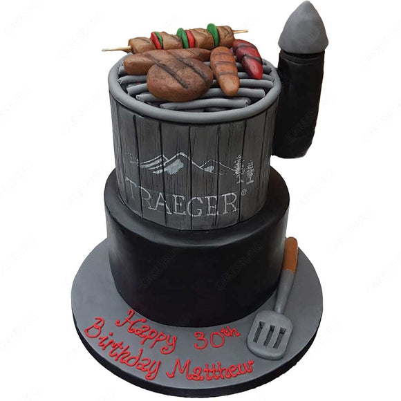 TRAEGER Barbecue Cake