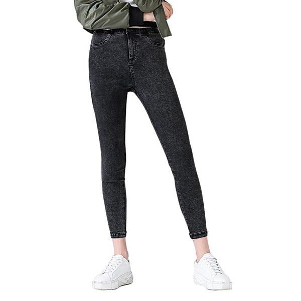 Skinny Jeans Black Pencil