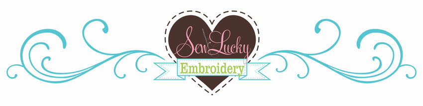 Sew Lucky Embroidery Logo