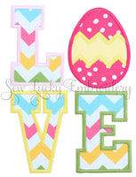 Love Easter Egg Patch