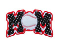 Baseball MOM Patch