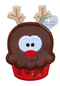 Rudolph Cupcake Patch