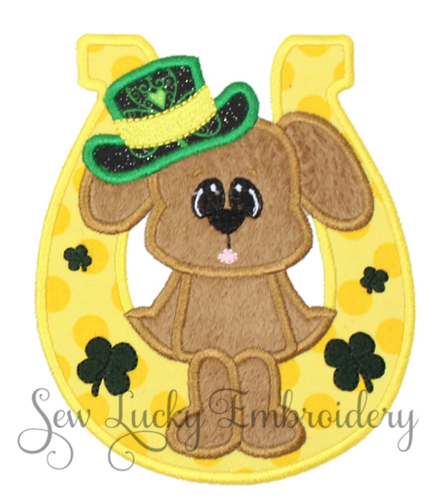 Shamrock Boy Bear Patch