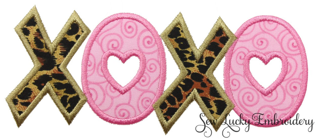 XOXO Valentine Patch