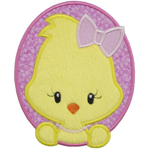Baby Girl Easter Chick Patch - Sew Lucky Embroidery