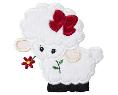 Baby Girl Easter Lamb Patch