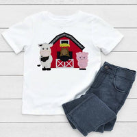 Barn Patch - Sew Lucky Embroidery