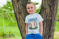 Baseball Personalized Shirt - Sew Lucky Embroidery