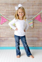 Girls Shirt - Sew Lucky Embroidery