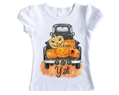 Boo Y'all Truck Shirt