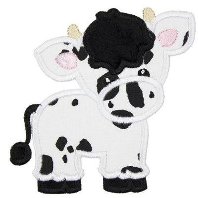 Boy Cow with Horns Patch