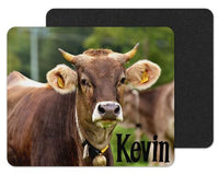 Bull Head Custom Personalized Mouse Pad