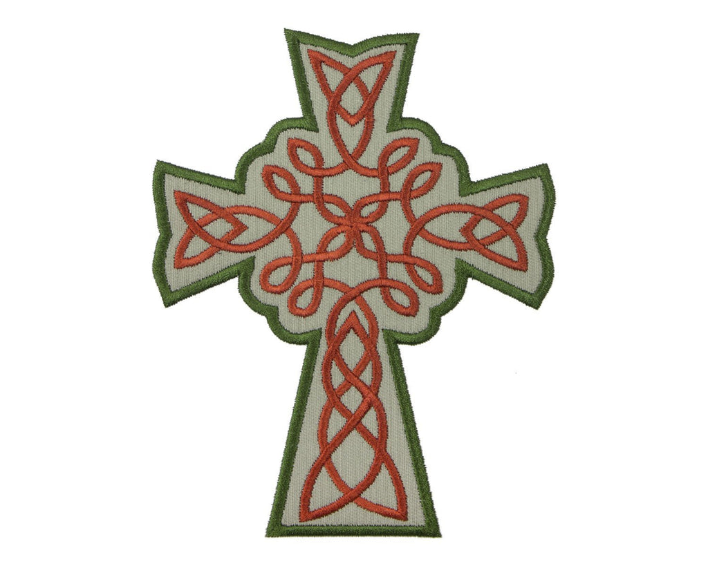 Celtic Knotwork Cross Patch