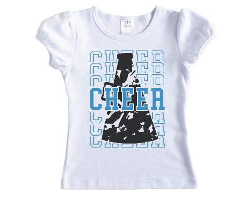 Cheer Stacked with Megaphone Shirt