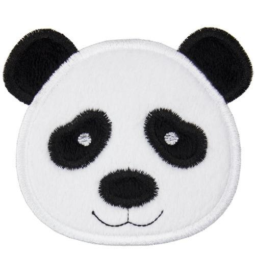 Cute Panda Patch - Sew Lucky Embroidery