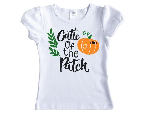 Cutie of the Patch Fall Shirt - Sew Lucky Embroidery