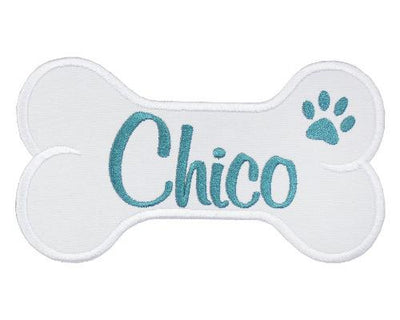 Dog Bone Personalized Patch