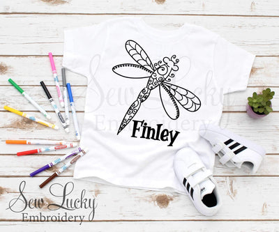Dragonfly Color Me Shirt