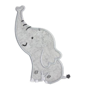 Elephant Patch - Sew Lucky Embroidery