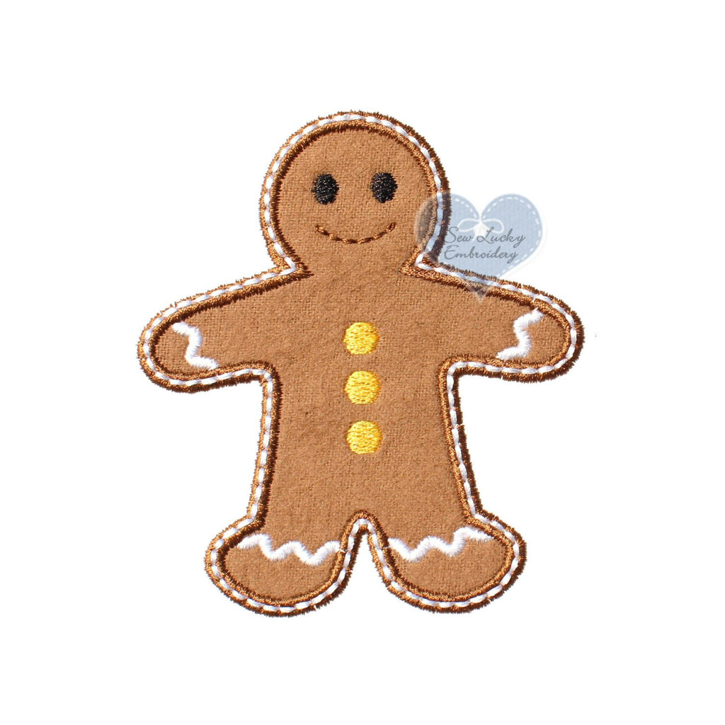 Gingerbread Boy Patch