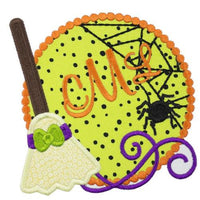 Halloween Monogram Patch - Sew Lucky Embroidery