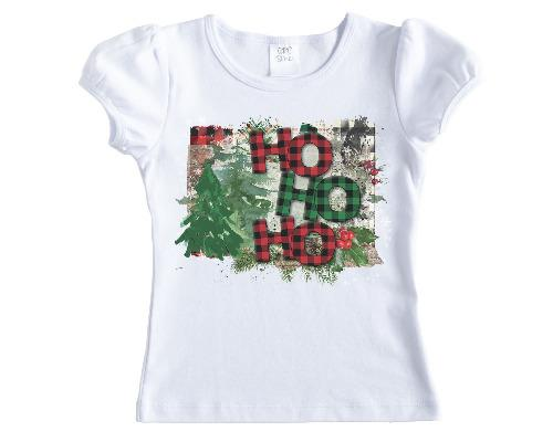 Ho Ho Ho Christmas Shirt - Sew Lucky Embroidery