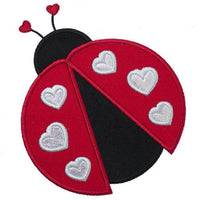 Ladybug Patch - Sew Lucky Embroidery