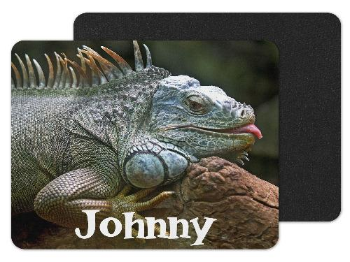 Lizard Custom Personalized Mouse Pad - Sew Lucky Embroidery