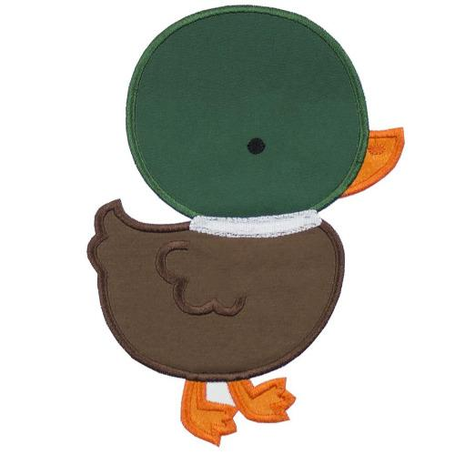 Mallard Duck Patch - Sew Lucky Embroidery