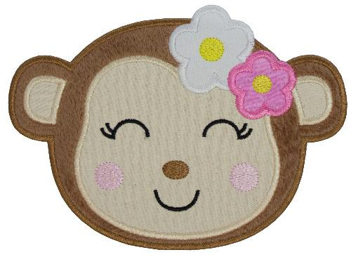 Monkey Patch - Sew Lucky Embroidery