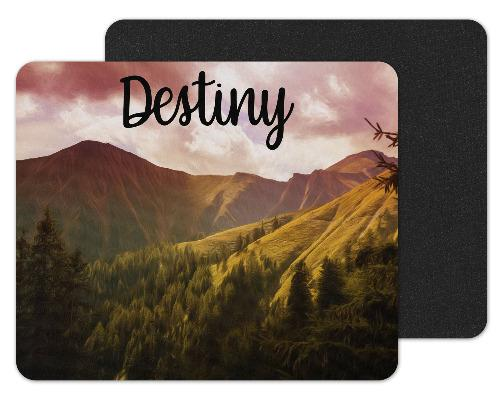 Mountains Custom Personalized Mouse Pad - Sew Lucky Embroidery