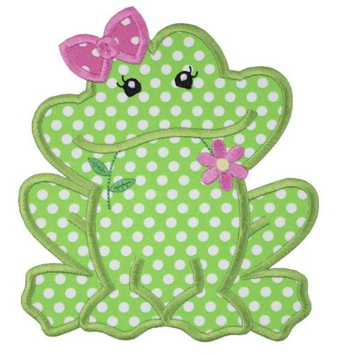 Ms Frog Patch - Sew Lucky Embroidery