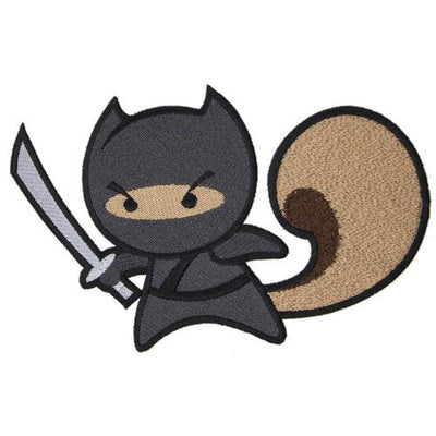 Ninja Squirrel Patch