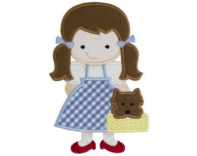 Oz Dorothy and Toto Patch