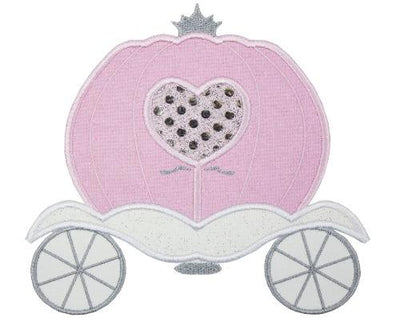 Princess Carriage in Pink Patch