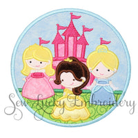 Princess Trio Patch