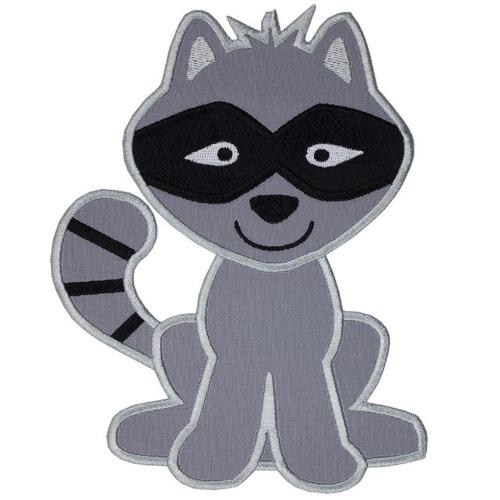 Raccoon Patch - Sew Lucky Embroidery