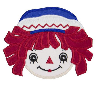 Raggedy Andy Face Patch