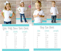 Rainbow Personalized Girls Shirt - Sew Lucky Embroidery