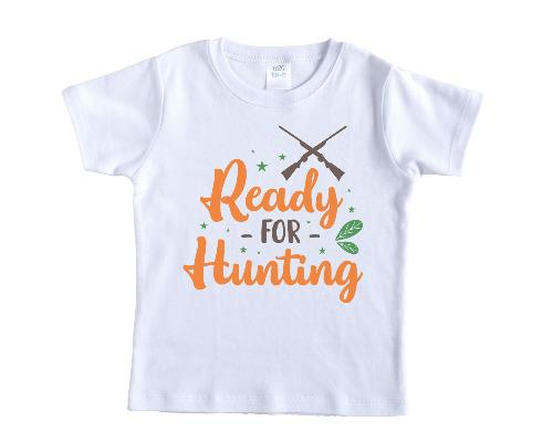 Ready for Hunting Boys Shirt - Sew Lucky Embroidery